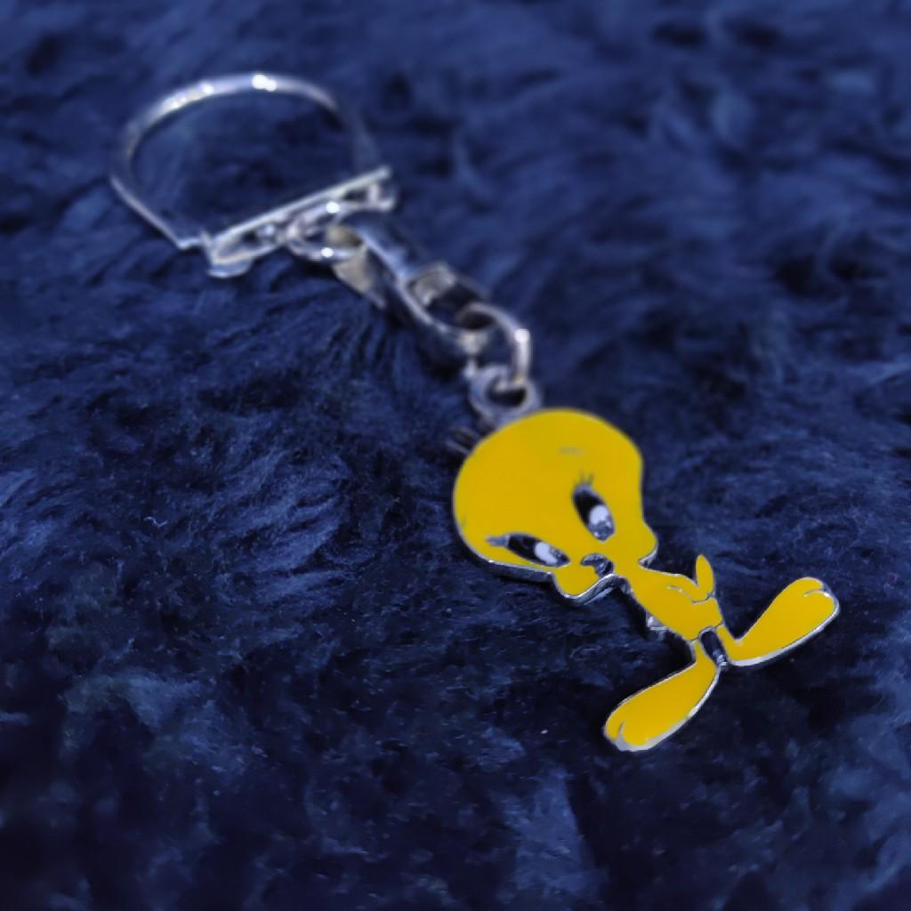 Silver Twetty Cartoon Keychain SKY-002