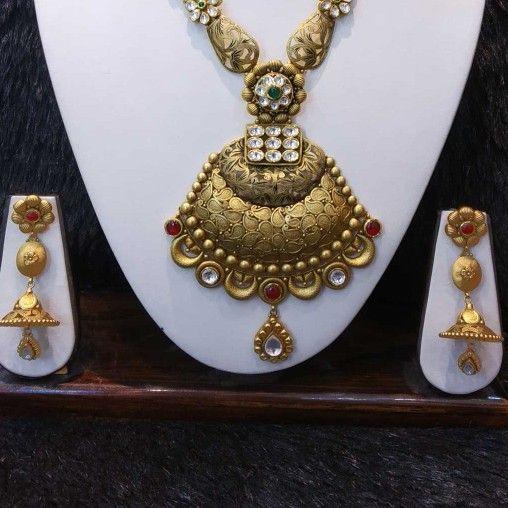 22kt gold bridal antique set
