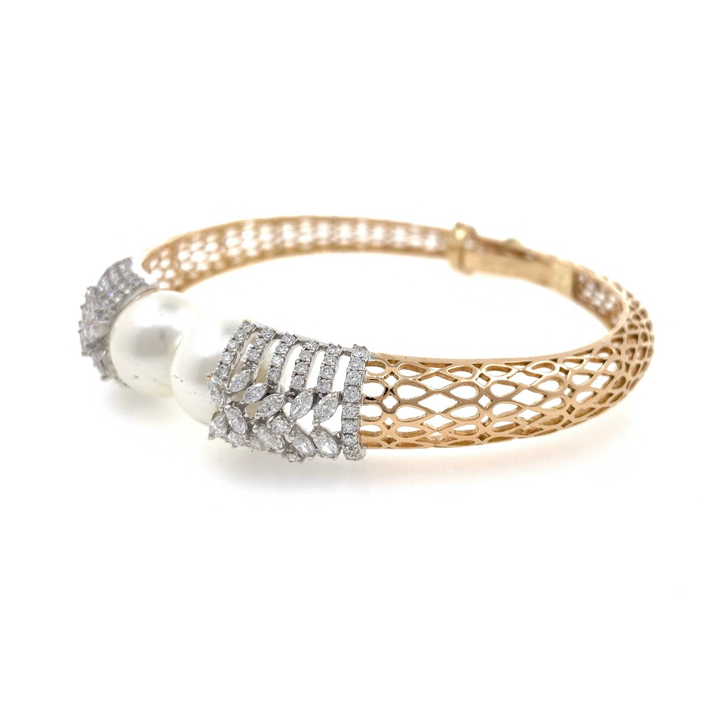 18kt / 750 rose gold fancy diamond bracelet 8brc21