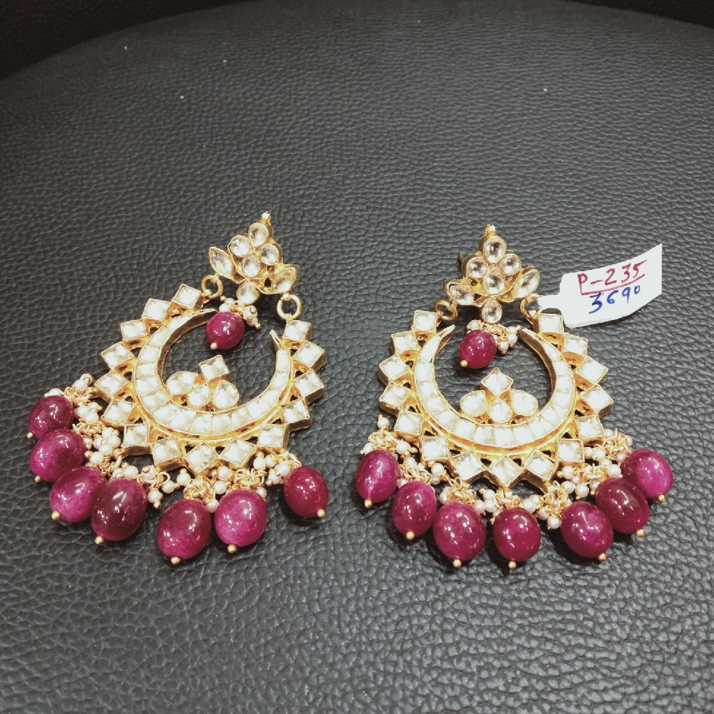 Kundan earring p 235