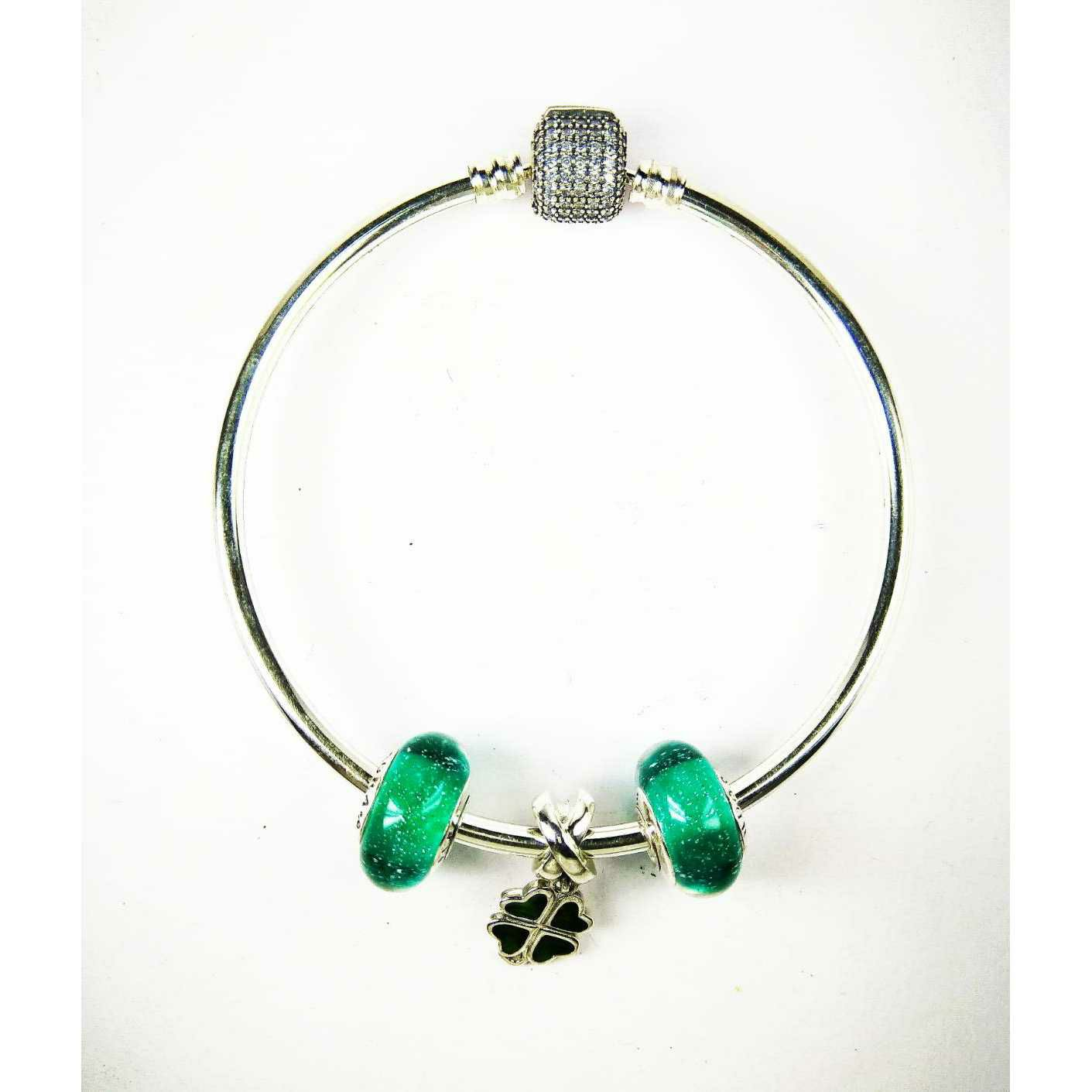 Latest 925 Silver Ladies Pandora Kada Bracelet