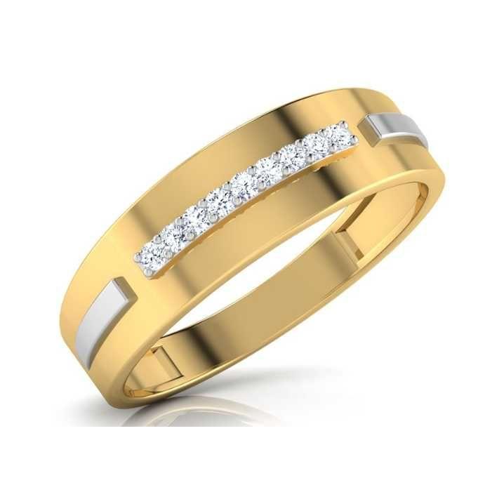 18 Ct Desiner Gents Ring