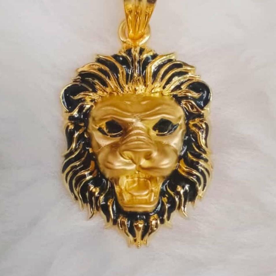 Antique lion Face Pandal
