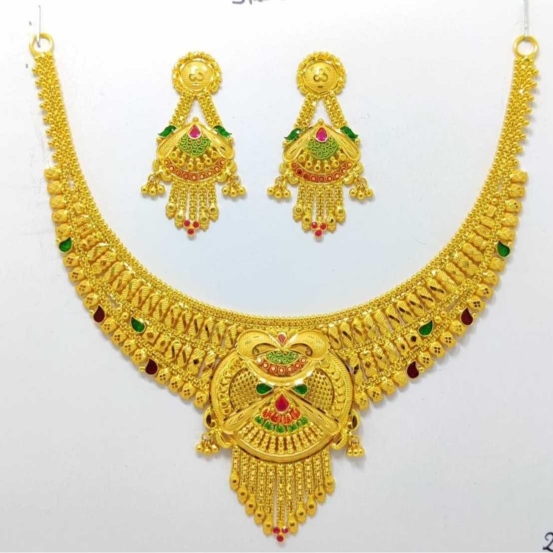 22ct Fancy Necklace Set