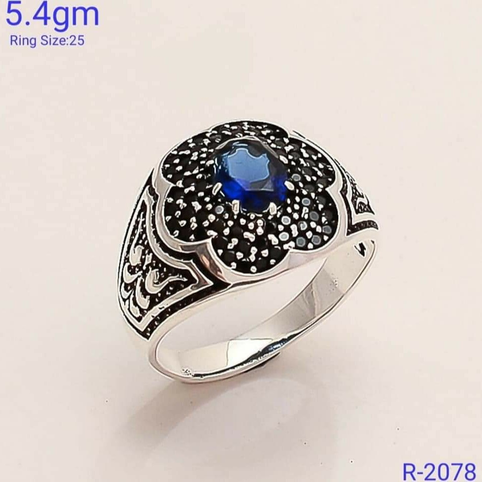 92.5 sterling silver ring SL R055