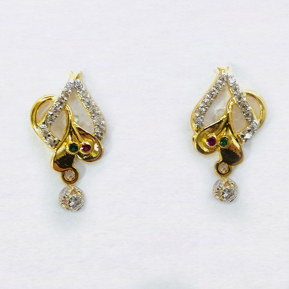 916 gold cz pendant set sk-ps004