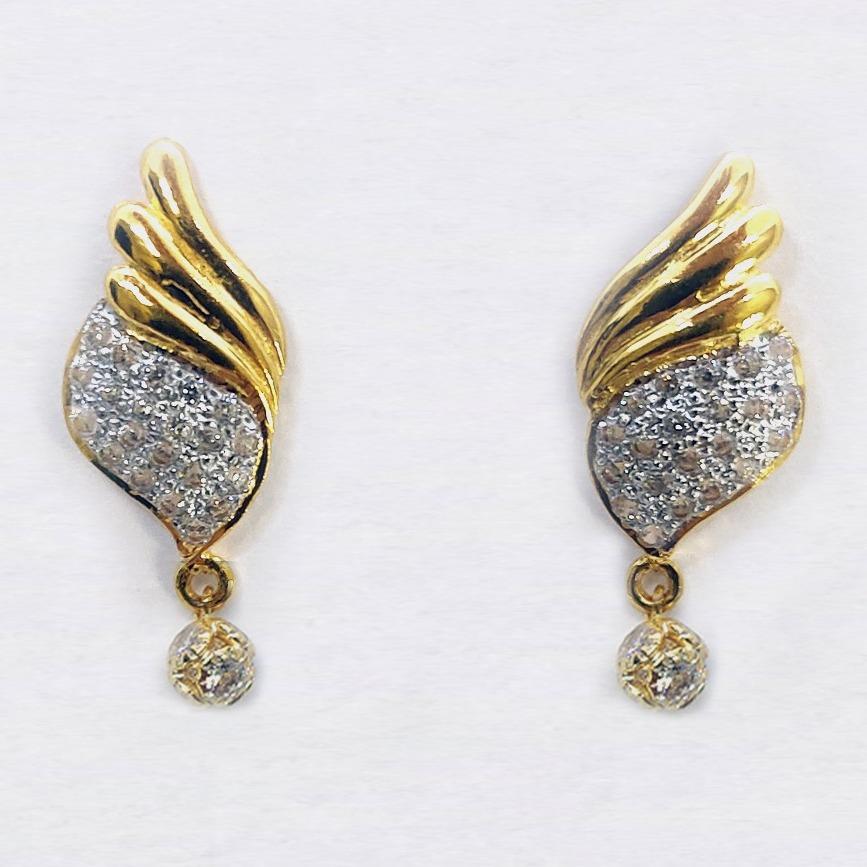 24kt 916 Gold Earrings
