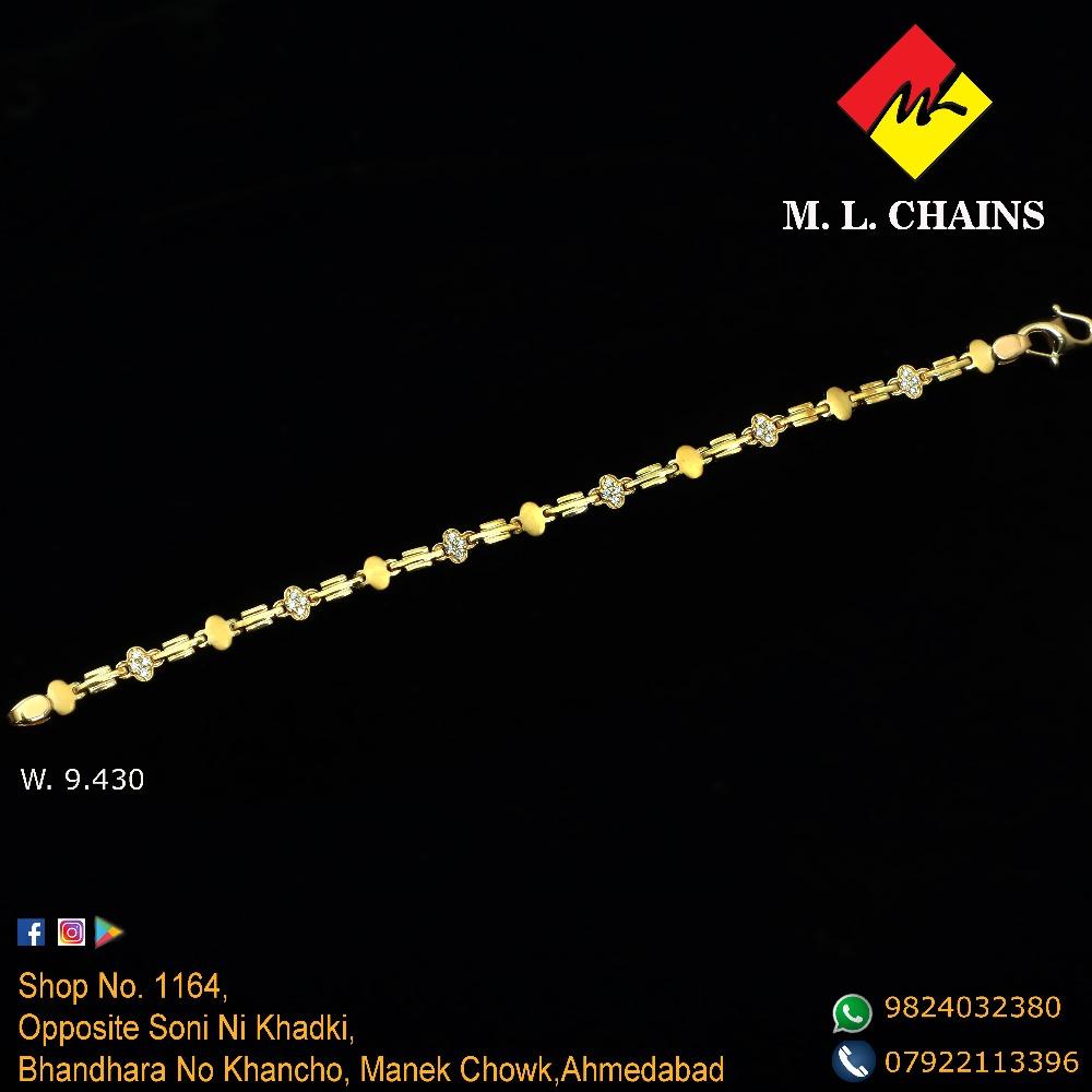 22KT Gold Designer Lucky For Men ML-B02