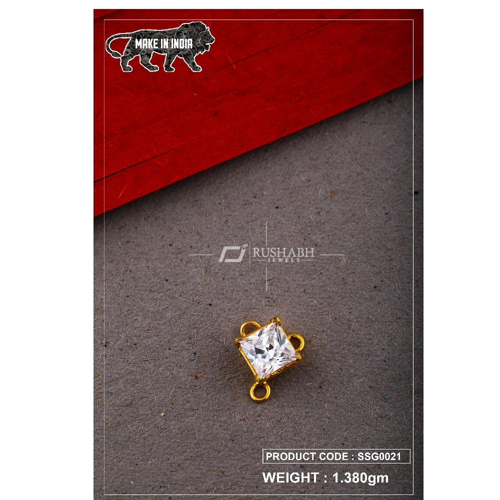 22 Carat 916 Gold Ladies singal stone msp smg0021