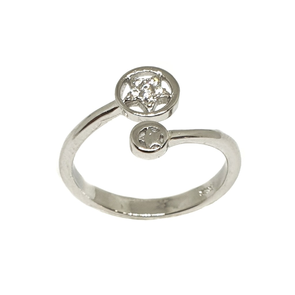 925 Sterling Silver Star Ring MGA - LRS3362