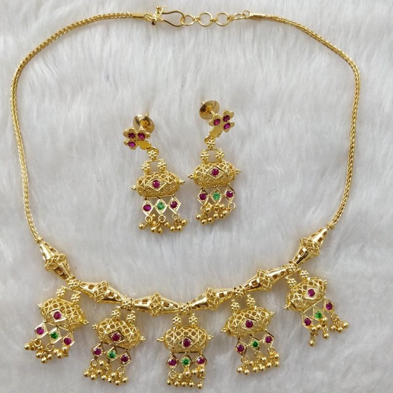 916 Gold ladies Necklace