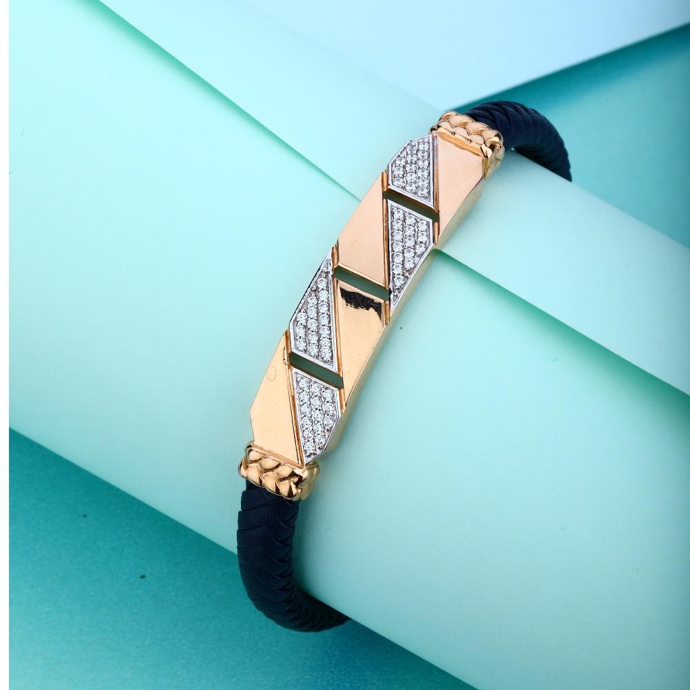 18KT Rose Gold Trendy design Braeclet