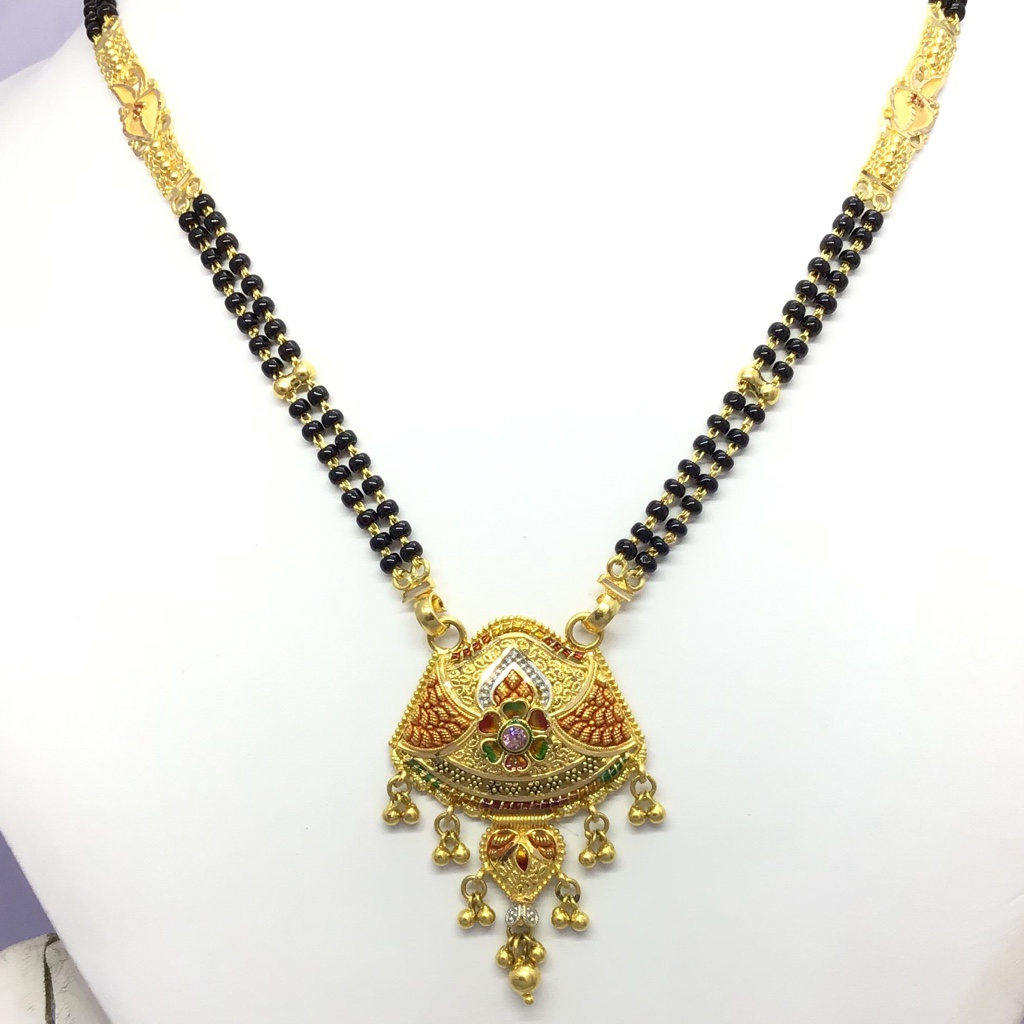DESIGNING FANCY GOLD MANGALSUTRA