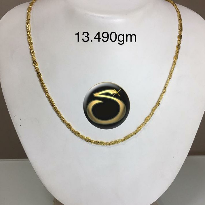 916 Gold Handmade chain SC-MD9606