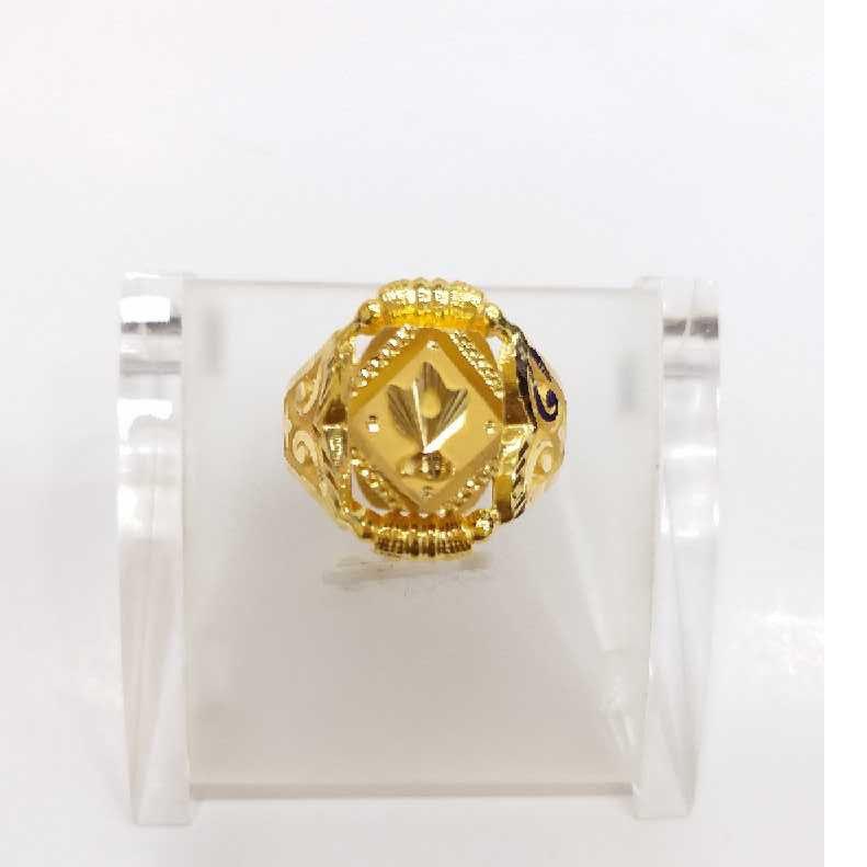 760 gold jalpari gents ring RJ-J001