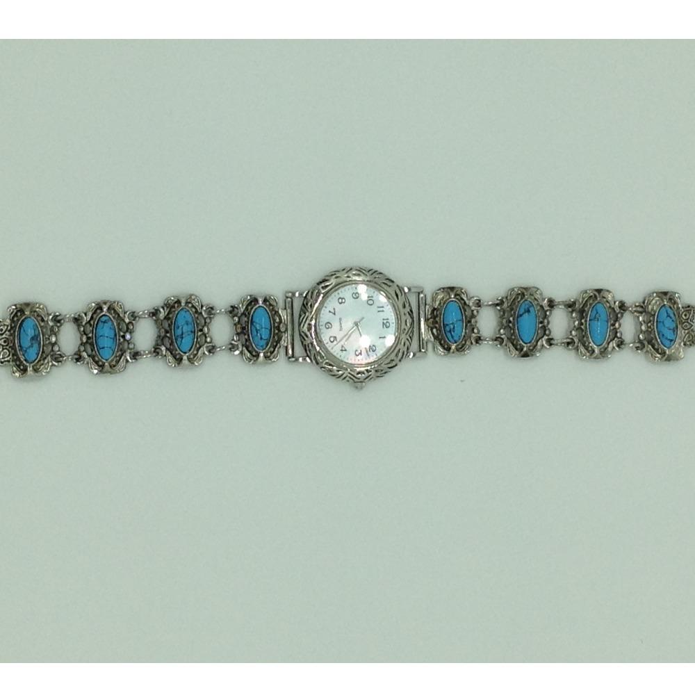 Turquoise Oval DesignerWatchJBG0251