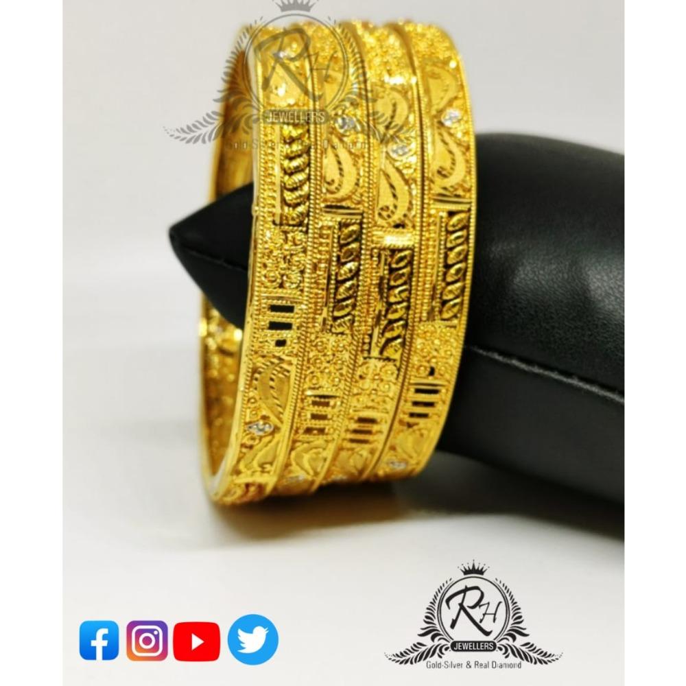 22 carat gold stylish ladies bangles RH-LB080