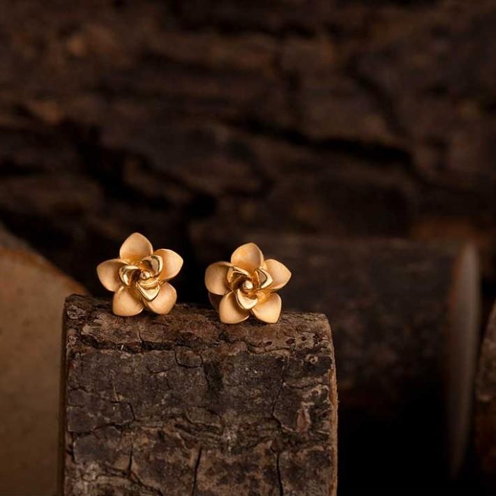 22k casting earrings