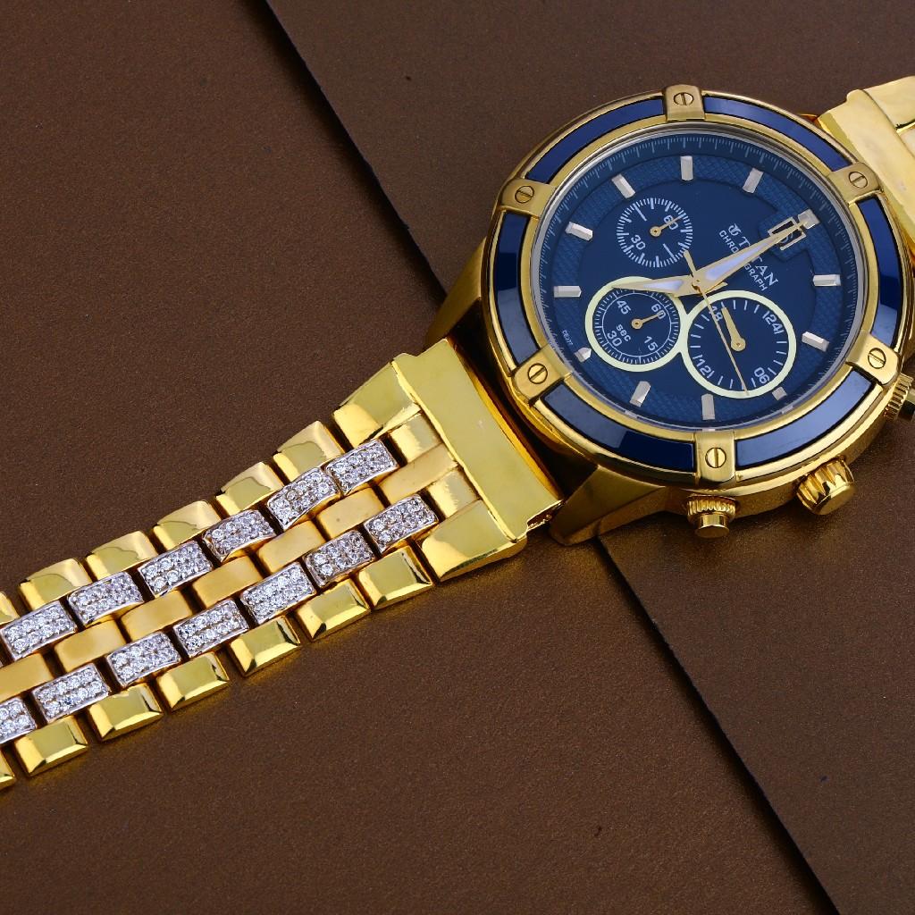 916 Gold Mens Fancy Watch MW25