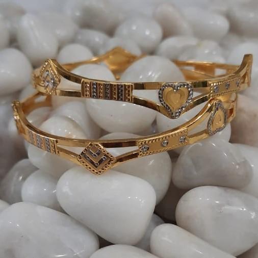 916 Gold Women's Stylish Ghaba Kadali SG61