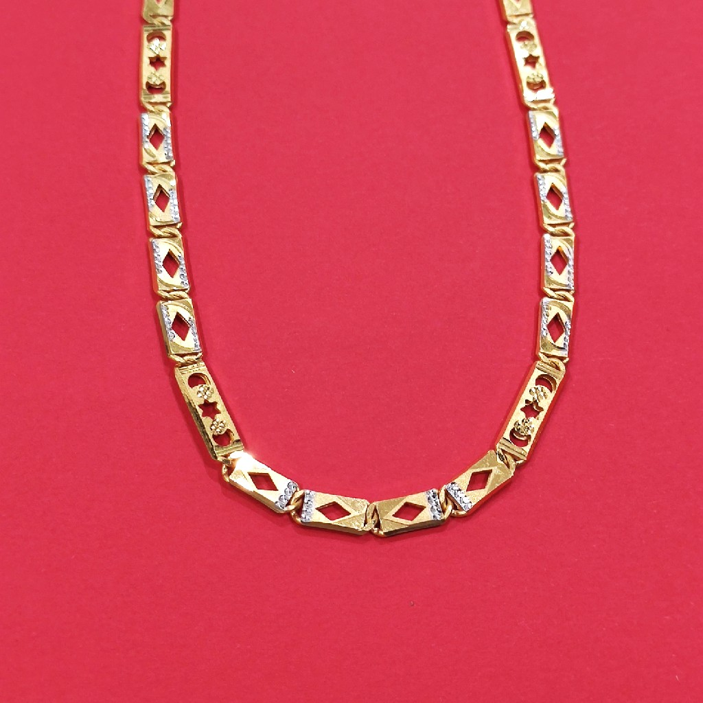 gold Nawabi chain