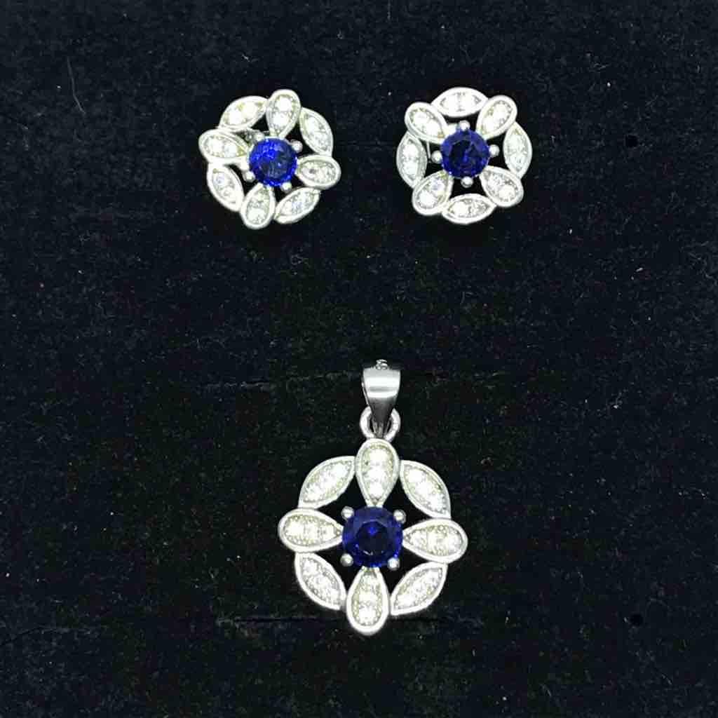 925 sterling silver pendant sets