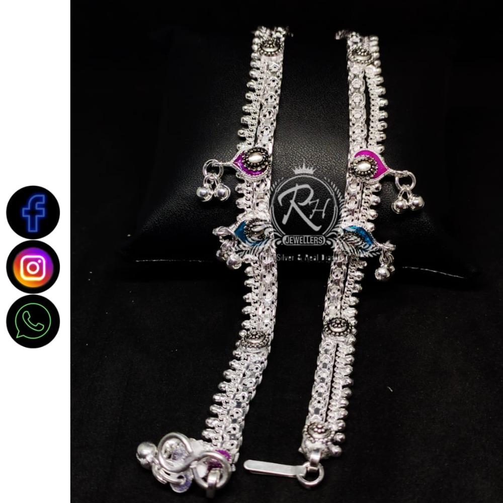 silver antiq ladies payal RH-LP263