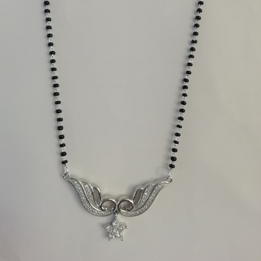 starling silver 92.5 fancy mangalsutra