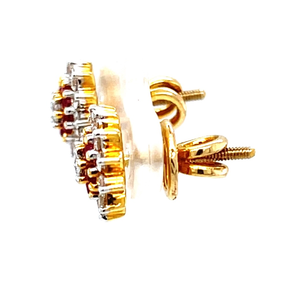 Maharashtrian Style Vati Kudi 18k Hallmark Gold 8TOP148