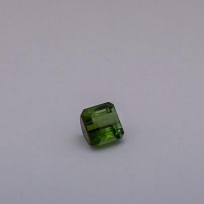 3.255ct square green tourmaline