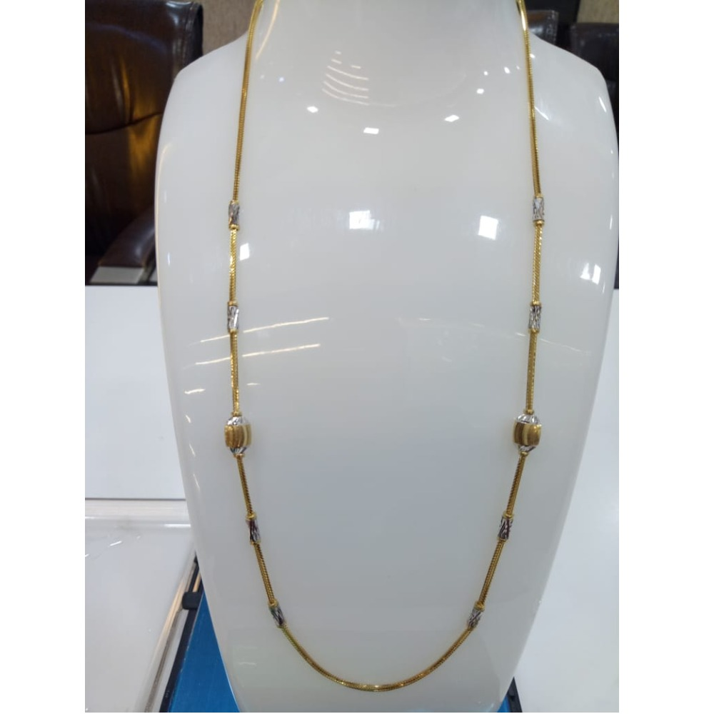 22KT Gold Fancy Chain For Women SVJ-C002