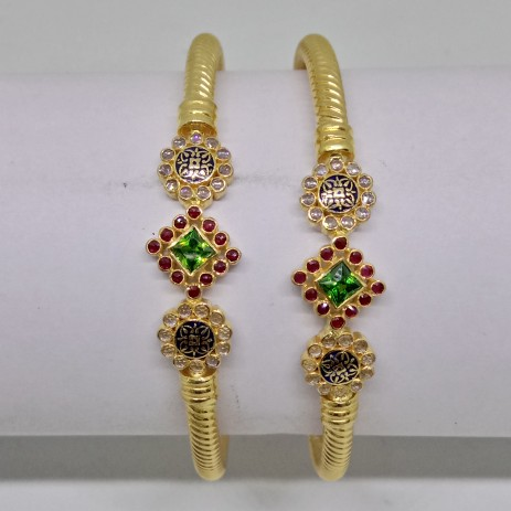 916 Gold Fancy bala variya kadli CU7338