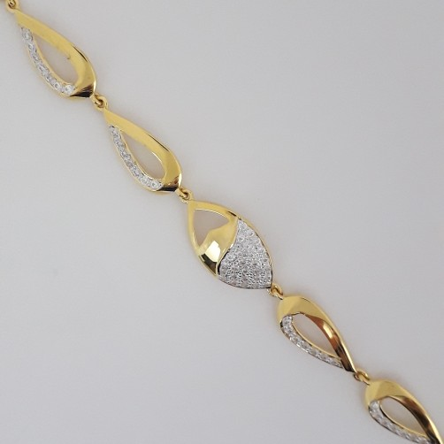 916 Gold bracelet for beautiful ladies