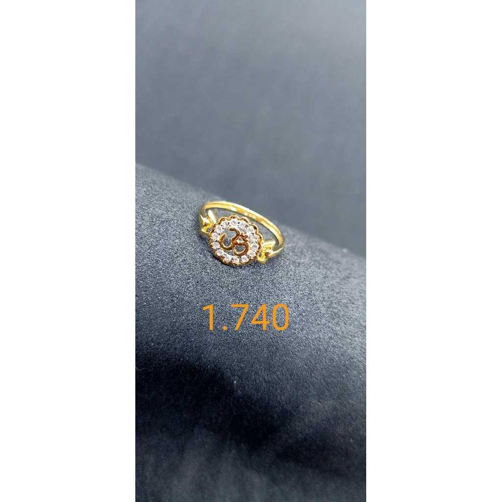 22 Kt Gold Ledies Ring