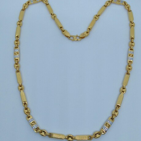916 HM Gold Chain with Diamond MJ-CH-002