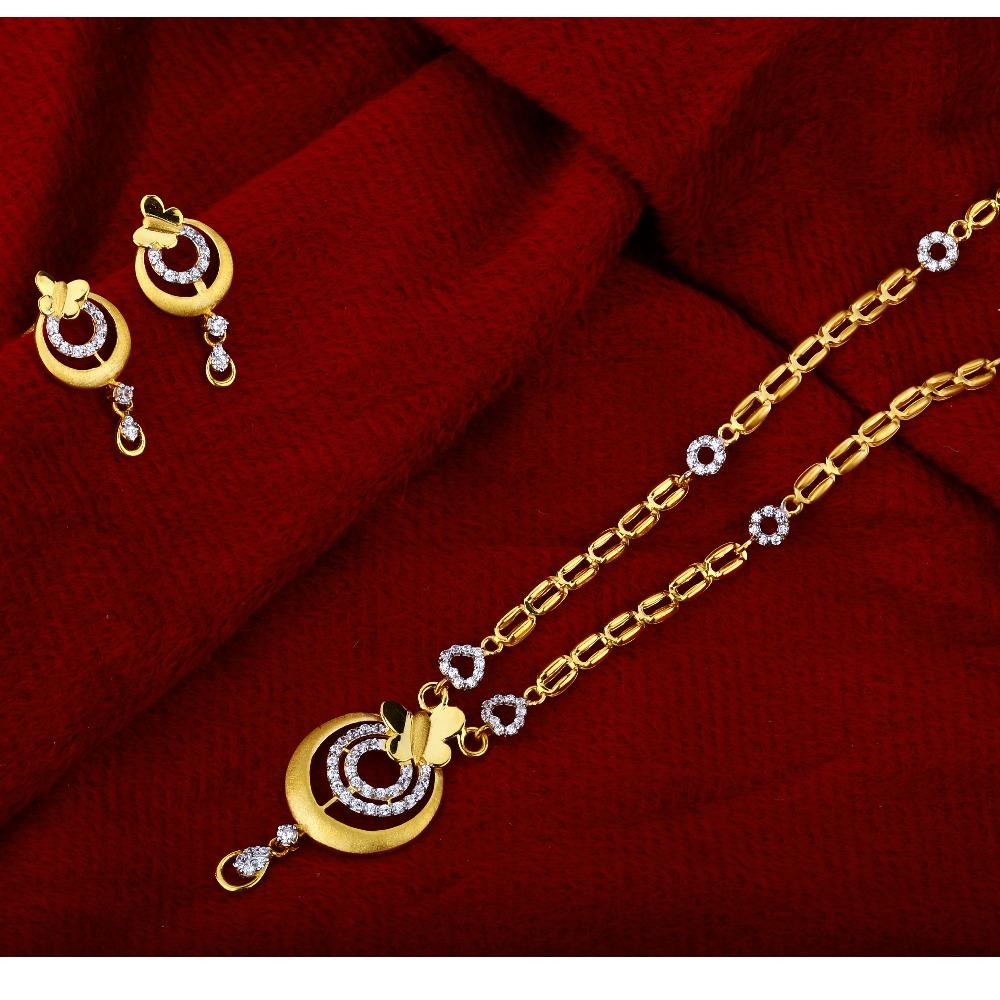 916 Gold Ladies  Hallmark  Classic  Chain Necklace CN19