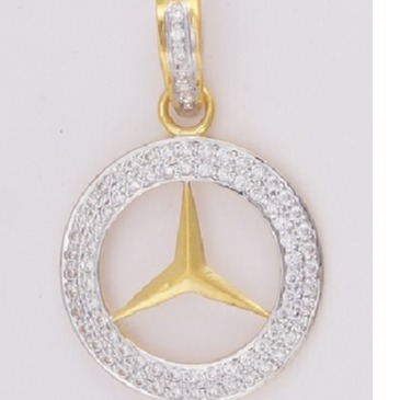 22KT Ladies Gold Pendant