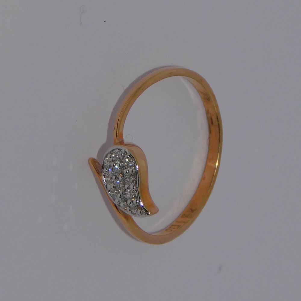 18K gold diamond ring agj-lr-249