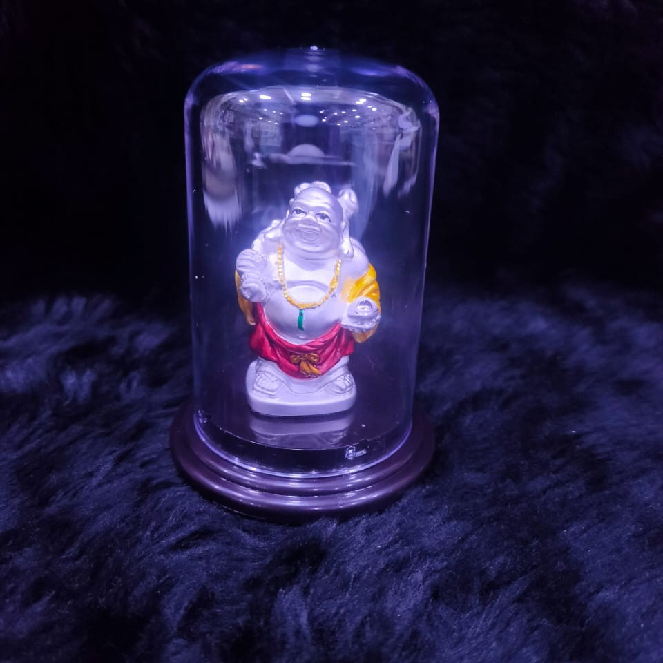 92.5 Sterling Silver Laughing buddha Idol