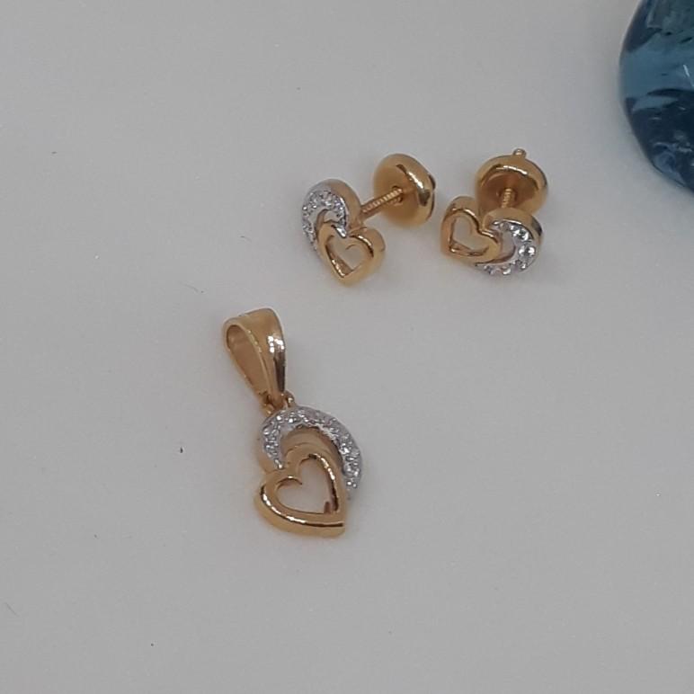 22ct Diamond Pendant set ps/571/7