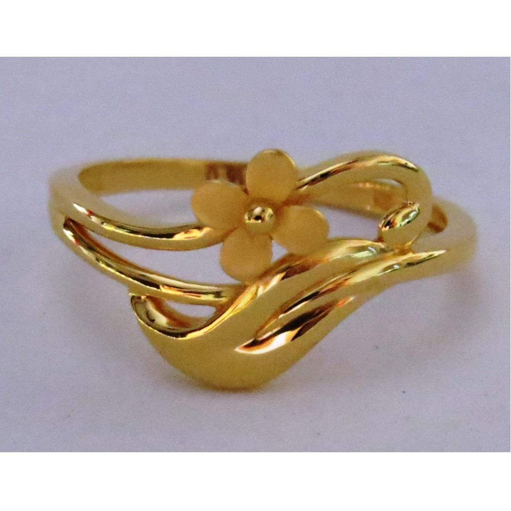916 plain casting ladies ring