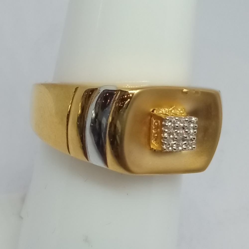 916 Gold Gents Ring LJ-12