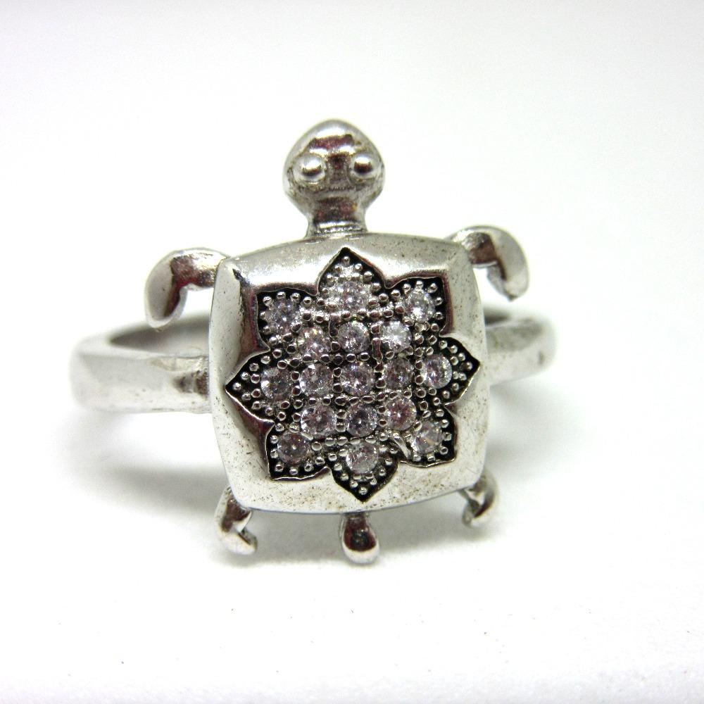 Silver 925 tortoise ring sr925-2