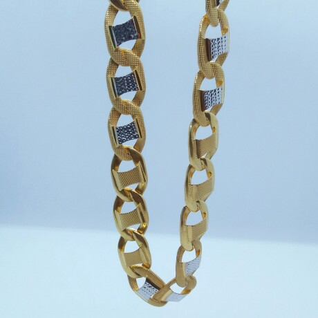 916 HM Gold Hollow Chain MJ-CH-006