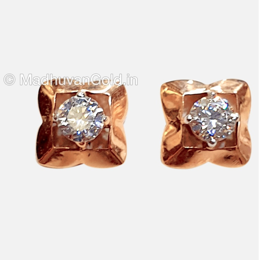 18KT Rose Gold Attractive Diamond tops