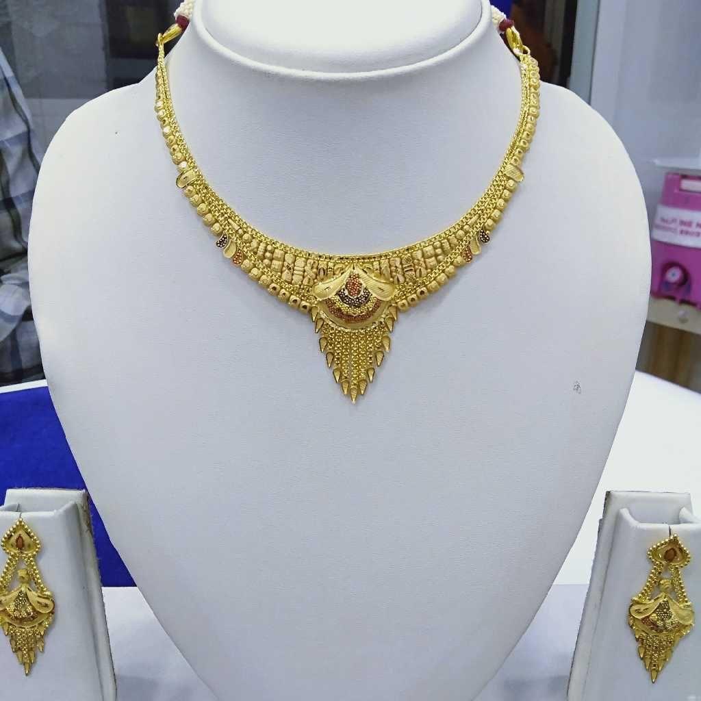 916 Gold Necklace RJ-N001