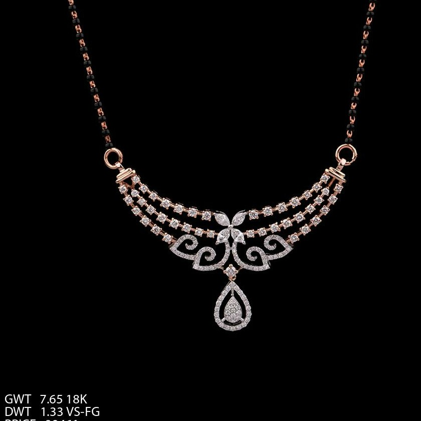 18K REAL DIAMOND PENDENT TJ-041