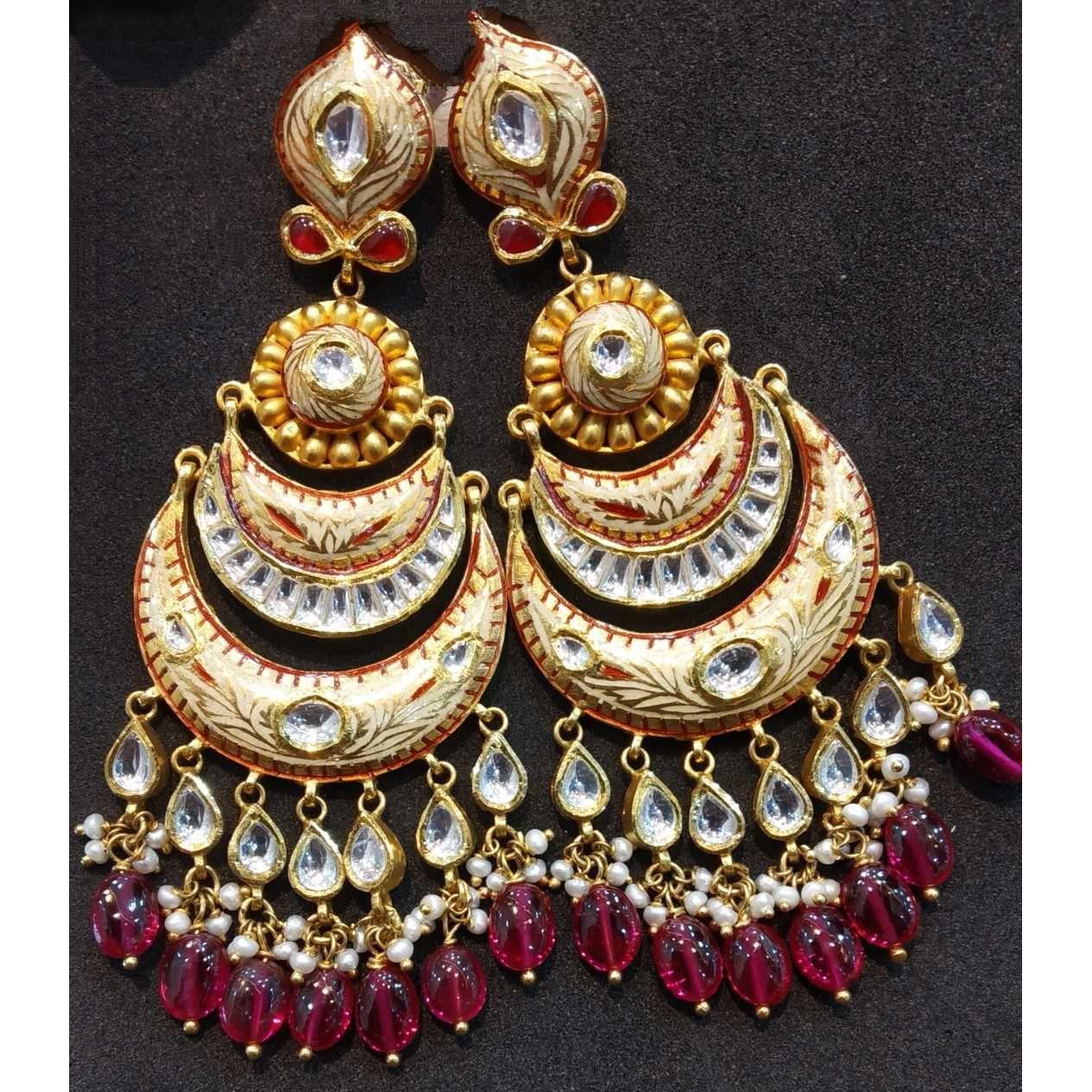 22kt gold bridal short antique set