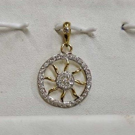 916 Classic Gold Ladies Pendant