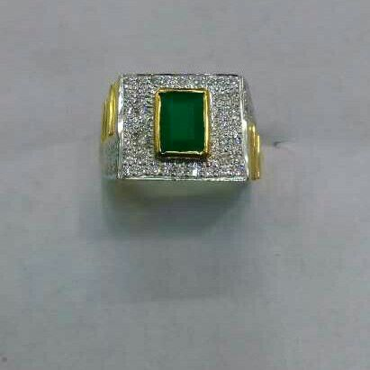 22K/916 Gold Single Stone Classic Ring